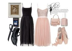 """""""Ballet Friends"""" by annabellechristinewren on Polyvore featuring Essie, Needle & Thread, Melissa, RED Valentino, John-Richard, Michael Kors and Olympia Le-Tan"""