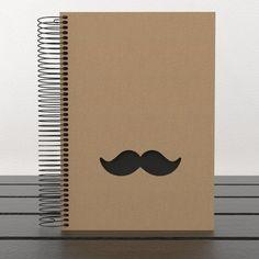 cuaderno moustache