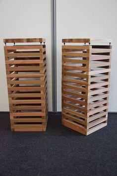 Stands per diffusori acustici realizzati a mano in mogano Divider, Room, Etsy, Furniture, Vintage, Design, Home Decor, Bedroom, Decoration Home