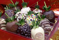 Decadent Valentines Chocolate Covered Strawberries