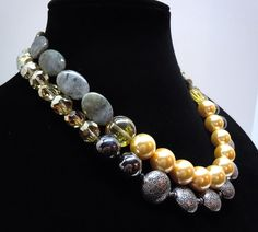 Classic Double Strand Necklace by Debbie Renee in by DebbieRenee, $66.00