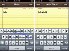 Swype for Android now available for ios - Cydia