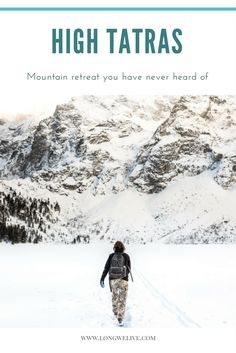 Discover mountain retreat Hight Tatras in winter! We share our personal advice how to take the most of your trip to the mountains.