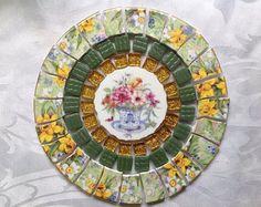 Mosaic china tiles   Etsy