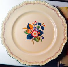 Art on a plate#vintage#atlantarentals#wedding#englishchina