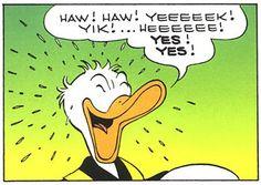 "The Magic Hourglass - haw haw yeeeek   ""The Magic Hourglass"" (1950) by Carl Barks"