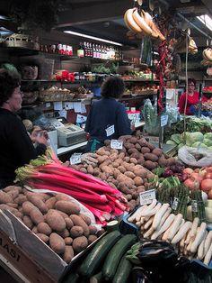★ Fiery Red ★ Food Market in Helsinki Helsinki, Produce Market, Fruit Shop, Beyond The Sea, Bazaars, Birches, Fiery Red, The Fresh, Seas