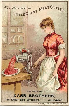 yup....a meat cutter. thats how you keep a man.