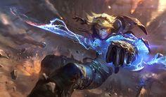 Ezreal | League of Legends http://www.helpmedias.com/leagueoflegends.php