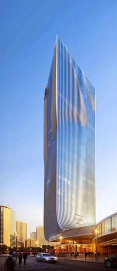 Fangda Business Headquarters, Shenzhen, China designed by Huasen Architects (HSA)
