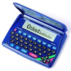 Seiko Electronic Oxford English Dictionary Spell Checker with Crossword Solver 7 Great Word Games with Score Memory