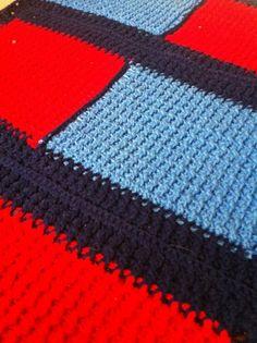 My #Crochet - Post Stitch Bath Rug