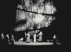 """"""" Das Rheingold """" 4.Bild 1966 Wieland Wagner Bühnenphoto"""