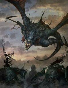 Dragon djinn