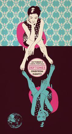Deftones Poster