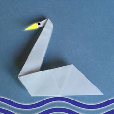This afternoon is going to be good becasue we're going to be making oragami swans. I learned how to do that during ancient times.