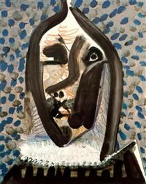 Head of the man - Pablo Picasso