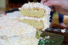 A Coconut Cake for Granny - Three Many Cooks