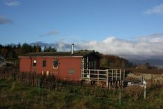 """in Balblair, GB. The """"Log Cabin"""" is on a smallholding in a great location on the Black Isle with open space all around you, and wonderful views out over the Cromarty Firth and mountains to the north. The Black Isle, Inverness, NC500, and the Highlands can be easil..."""