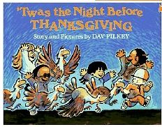 Twas the Night Before Thanksgiving activities