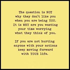 #Truth.  Continue doing what's right and don't mind those people who keeps bringing you down, it only means one thing: YOU are above them!