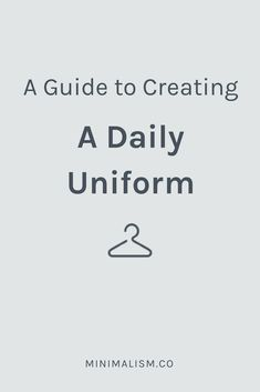 create a daily uniform.png