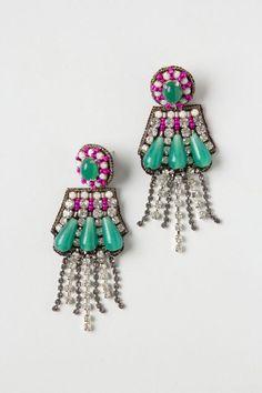 Vagabond Earrings - anthropologie.com