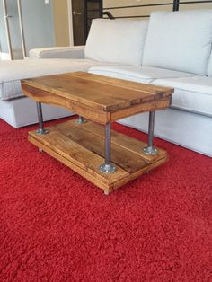Handmade Reclaimed Wood Coffee Table by 2921Woodworking on Etsy