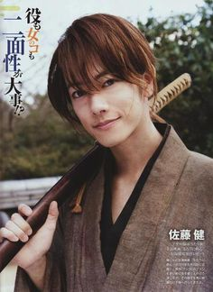 Takeru Sato (as Kenshin Himura in Rurouni Kenshin) i like it