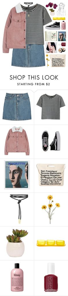 """you're my pretty little vixen"" by hhuricane ❤ liked on Polyvore featuring A.P.C., WithChic, Vans, Chicnova Fashion, Lux-Art Silks, Tina Frey Designs, philosophy and Essie"