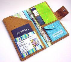 Passport Wallet-Owls of Athena (Interior)