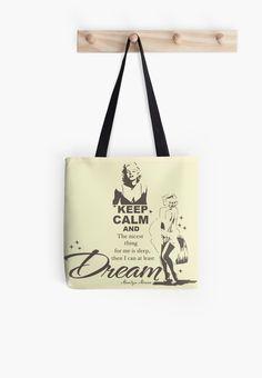Keep Calm Theory - MARILYN DREAMS BAG by Alchimia