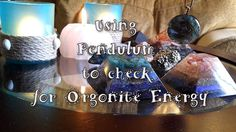 USING #PENDULUM TO CHECK FOR #ORGONITE #ENERGY #spirituality #meditation #starseed #promote #love #crystals #youtube #vlog #vlogger
