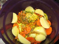 Tajine de veau et ses petits légumes