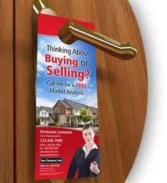 Real Estate Door Hanger Marketing: Door Hanger Ideas | UPrinting ...
