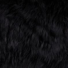 DIy Faux Fur Arctic Fox Black  Item Number: 0260739  Our Price: $26.98 per YD