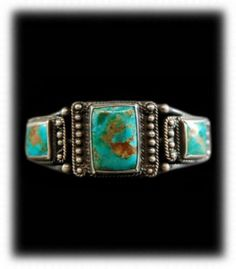 Vintage Navajo Turquoise Bracelet |Pinned from PinTo for iPad|
