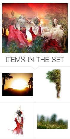 """Summer dance"" by jojona-1 ❤ liked on Polyvore featuring art"