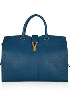 Yves Saint Laurent Cabas leather tote