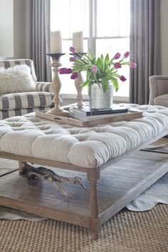 Ottoman Table. Home   Living RoomLiving Room IdeasLiving ...