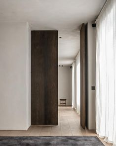 Interior architecture by Benoit Viaene, rug by furniture by Arch Interior, Modern Interior, Interior Styling, Interior Design, Space Architecture, Architecture Details, Door Design, House Design, Design Art