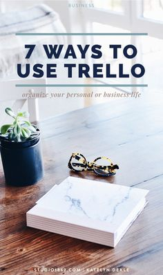 STUDIO 1862 || 7 Ways You Can Use Trello - Once I dug in, I found all sorts of fun ways to use Trello both for business & for home, so today I'm sharing 7 ways you can use Trello too! || #organizeyourlife #organizeyourbusiness #organizeyourhome #grocerylists #familyschedule #worktodos #editorialcalendar #blogcalendar #teamassignments #teamwork #clientwork #businessinformation #eventplanning #goalsetting #bookmarks