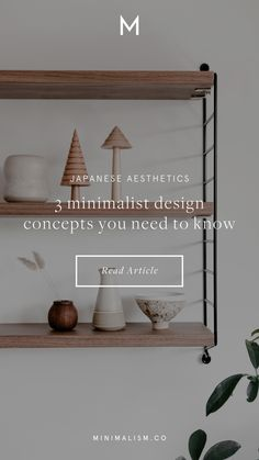 Japanese minimalist design concepts you need to know — Minimalism - Inspired by minimalist design, but don't know how to update your style or space to embody it? Take your cue from Japanese aesthetics. Minimalist House Design, Minimalist Room, Minimalist Style, Minimalist Lifestyle, Minimalist Fashion, Modern Home Interior Design, Minimalist Home Interior, Modern Decor, Minimal Decor