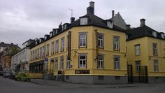 The city of Trondheim, Norway is in the middle of Norway. Easy accessible by plane, car or by ship. For info, www. Trondheim Norway, By Plane, Bakery, Beautiful Places, Multi Story Building, Middle, Ship, Mansions, House Styles