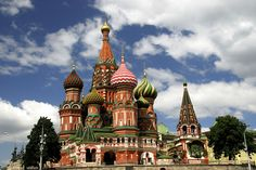 A Rear View of St. Basil's Cathedral in Moscow | A view of t… | Flickr