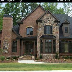 Brick and stone exterior PERFECT!!!