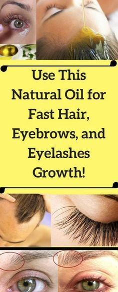 THIS NATURAL OIL HELPS GROW HAIR , EYEBROWS, AND EYELASHES FAST – Toned Chick