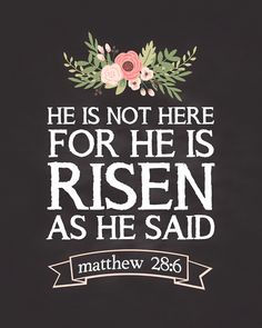 Short Easter Sunday bible verses 2019 for kids about resurrection of the dead.Easter bible story, luke is risen scripture. Sunday Bible Verse, Lds, Easter Scriptures, Easter Bible Verses, Resurrection Day, Jesus Is Lord, Christian Quotes, Christian Crafts, Bible Quotes