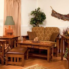 Amish Made Living Room Suite