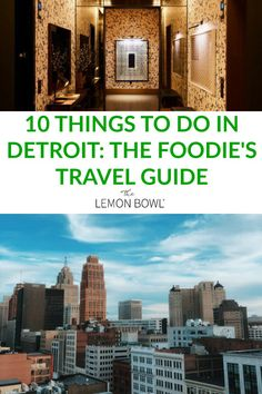 10 Things to Do in Detroit: The Foodie's Travel Guide - The Lemon Bowl® - The ultimate foodie travel guide to Detroit, I'll show you where to stay plus the top ten things - Wanderlust Travel, Us Travel, Places To Travel, Travel Destinations, Visit Detroit, Detroit Michigan, Stuff To Do, Things To Do, Lemon Bowl